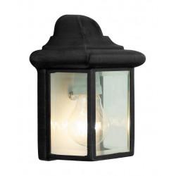 Nástěnná černá lampa NEWPORT