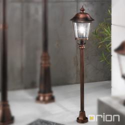 Venkovní stojanové svítidlo ARDENZA měď 120cm