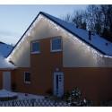 Vánoční LED rampouchy HIGH PROFI 230V studená bílá