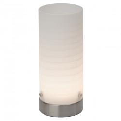 Stolní LED lampa DAISY bílé sko