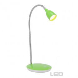 Stolní LED lampa ANTHONY zelená