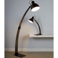 Stojací lampa NANNA jasanové dřevo