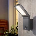 Venkovní nástěnné LED svítidlo PEPILLO se senzorem