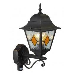 Venkovní nástěnná lampa JASON se senzorem