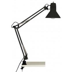 ČERNÁ pracovní lampa HOBBY